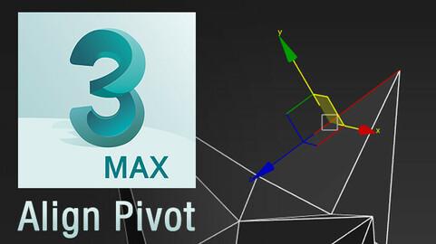 Align Pivot script for 3ds Max