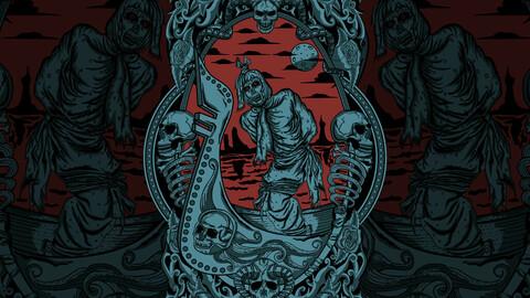 Drak Art T-shirt Design
