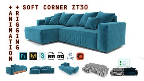 Soft Corner ZT30 + Rigging and Animation