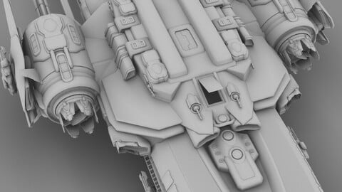 UEF Arachnid Class Destroyer Escort