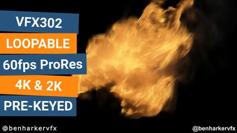 VFX302 - Loopable Fire VFX Asset