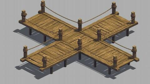 X Cross - Wooden Bridge 03