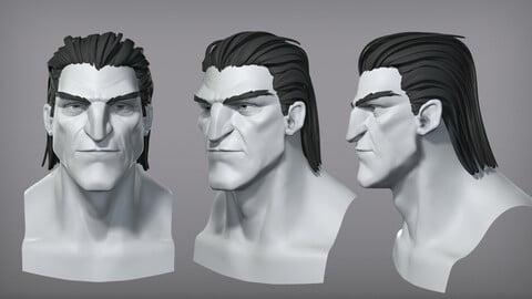 Cartoon male character Vito