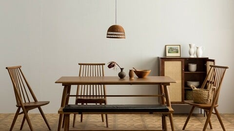 May Wood Cafe Windsor Chair