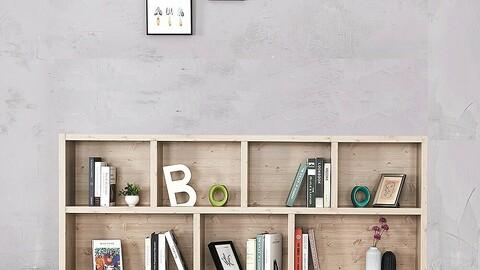 2000-2 tiers wide bookcase bookshelf shelf cabinet