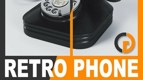 Retro Telephone - Bakelite