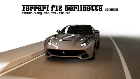 Ferrari f12 berlinetta car 3d model