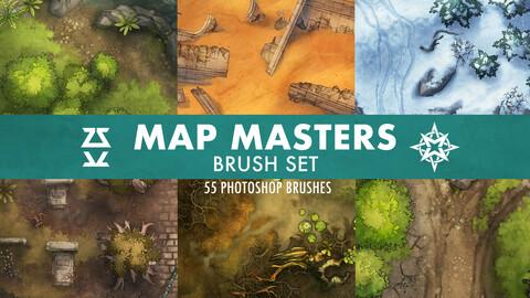 Map Masters Brush Set