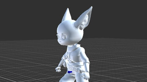 Adventure Character with Rig and Animation