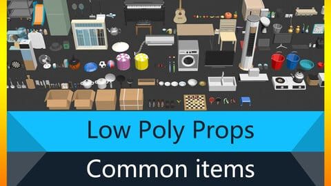 Low Poly Props Pro