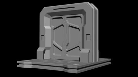 CGA Sci-Fi Door 01