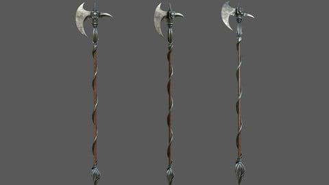 Ancient Long-handled axe