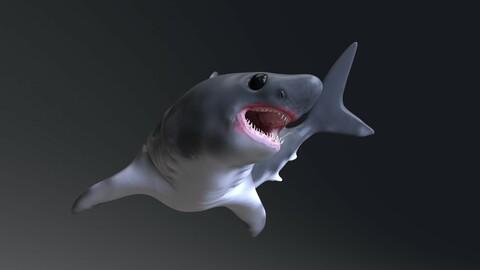 Baby Shark Model - 18 Animations
