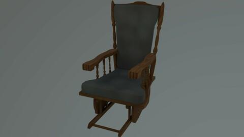 Rocking Chair - Green
