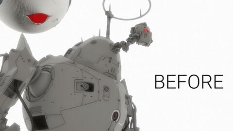 "Digital comic book ""BEFORE"" DEMO! ENG (PDF)"