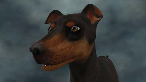 MDGH.009 Rigged Dog