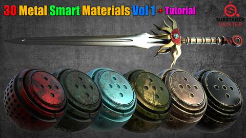30 Metal Smart Materials Vol 1 + Tutorial
