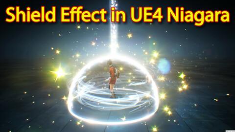 Shield Effect in UE4.26 Niagara