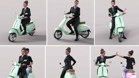 Z Belina Bike and Poses