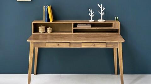 Odun Wood Desk 1500