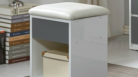 Shine storage stool 4colors