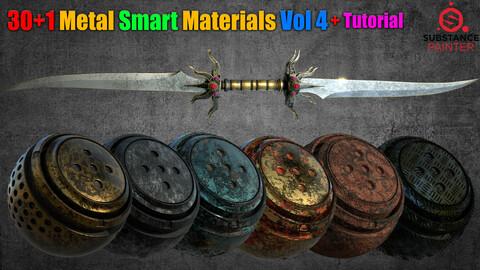 30+1  Metal Smart Materials Vol 4 + Tutorial
