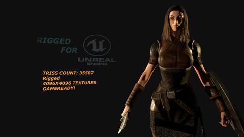 Norse Shield maiden