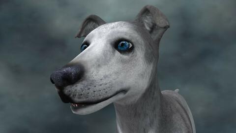 MDGH.012 Rigged Dog