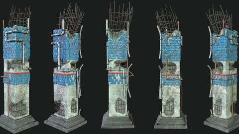 Post Apocalipsis Subway Column