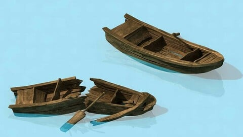 Traffic - Small wooden boat
