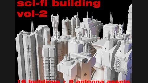 sci-fi buildings-vol2