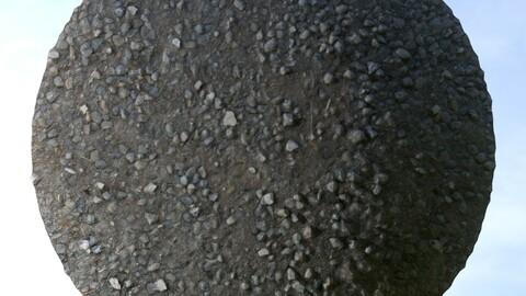 Gravel Ground 11 PBR Material