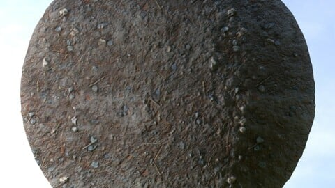 Dirt Ground 3 PBR Material