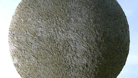 Dirty White Wall 1 PBR Material