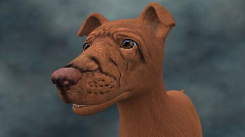MDGH.021 Rigged Dog