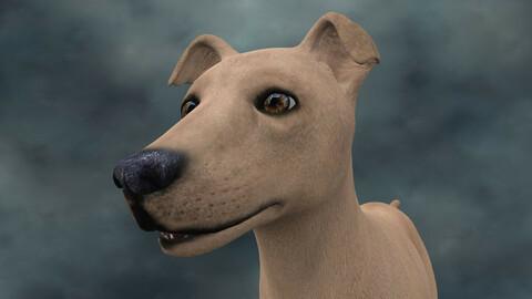 MDGH.022 Rigged Dog