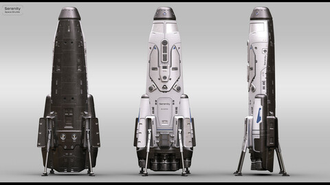 Space Shuttle 8in1 skins