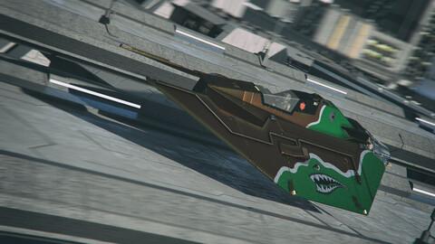 Sci-Fi Race Speeder