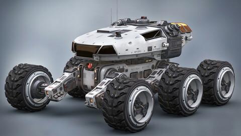 Mars Rover White