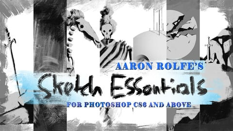 Sketch Essentials Photoshop Bundle