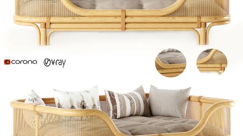 sofa Venus Rattan Daybed