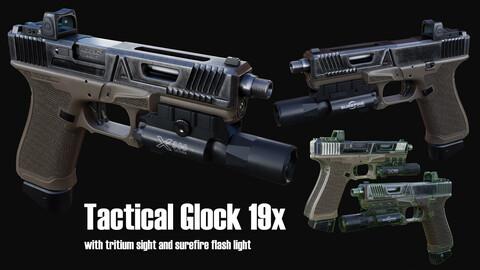 Tactical Glock 19x