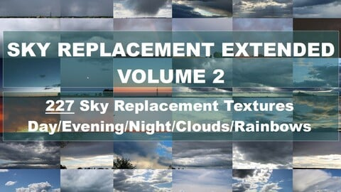 Sky Replacement Extended Vol. 2