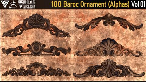 100 Baroc Ornament (Alphas) Volume 01