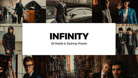 20 Infinity LUTs and Lightroom Presets