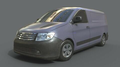 Generic Minivan Grey