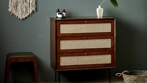 laura rattan chest of drawers 2colors