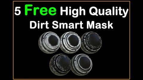 5 Free High Quality Dirt Smart Mask