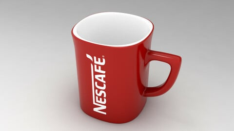 Red Mug Nescafe
