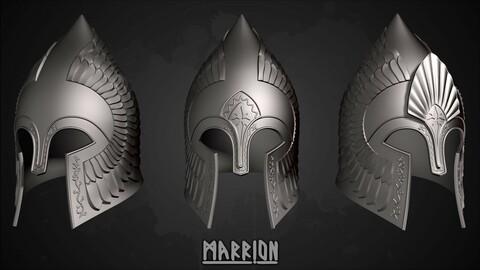Gondor Helmet LotR 3d Print ready